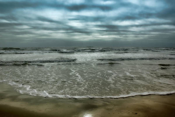Whitecaps Photograph - Rough Surf by Ellen Heaverlo