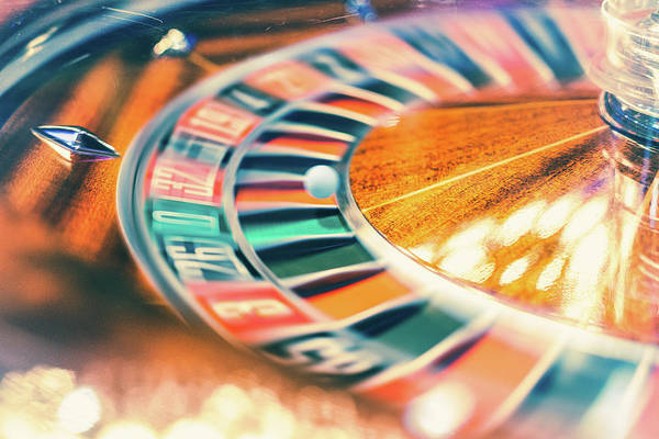 Luck Photograph - Roulette Wheel In Motion by Deimagine
