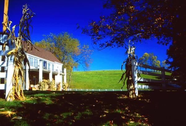 Wall Art - Photograph - Round Hill Farm by Tammy  McGogney