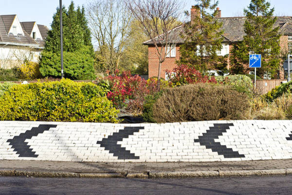 One Way Road Photograph - Roundabout by Tom Gowanlock