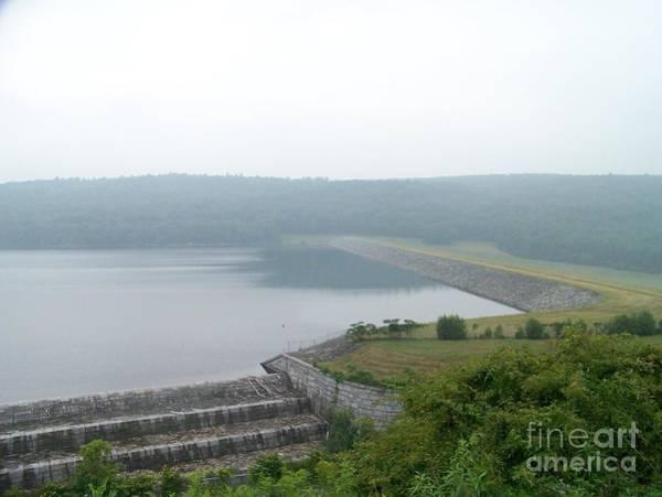 Sullivan County Photograph - Roundout Reservoir Dam by Kevin Croitz
