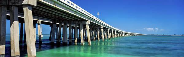 Bahia Honda Photograph - Route 1 Overseas Highway, Bahia Honda by Panoramic Images