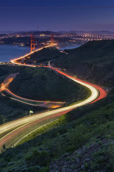Marin Photograph - Route 101 by Rick Berk