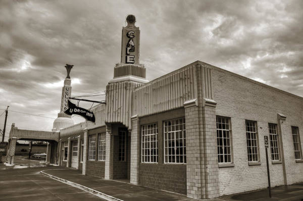 Historic Route 66 Photograph - Route 66 Conoco by Ricky Barnard
