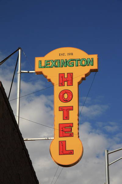 Photograph - Route 66 - Lexington Hotel by Frank Romeo