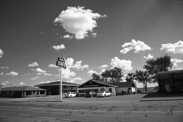 Photograph - Route 66 - Midpoint Cafe Adrian Texas by Frank Romeo