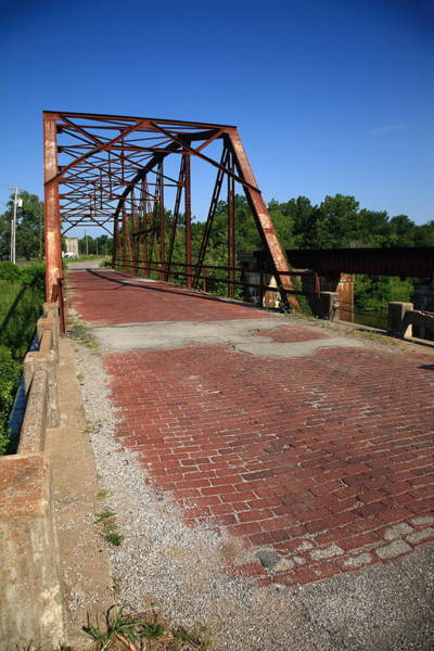 Photograph - Route 66 - One Lane Bridge by Frank Romeo