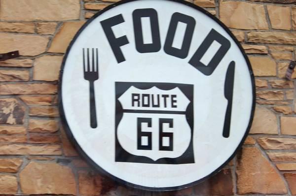Photograph - Route 66 Restaurant  by Cynthia Guinn