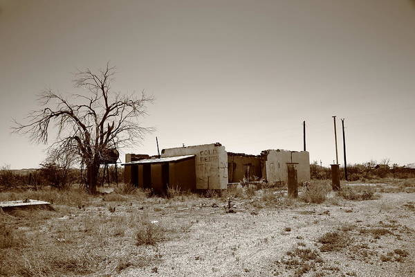Photograph - Route 66 Ruins by Frank Romeo