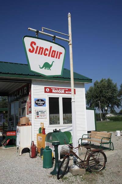 Route 66 - Sinclair Station Art Print