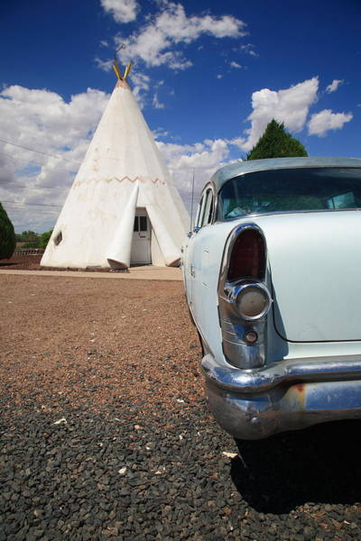 Photograph - Route 66 Wigwam Motel by Frank Romeo