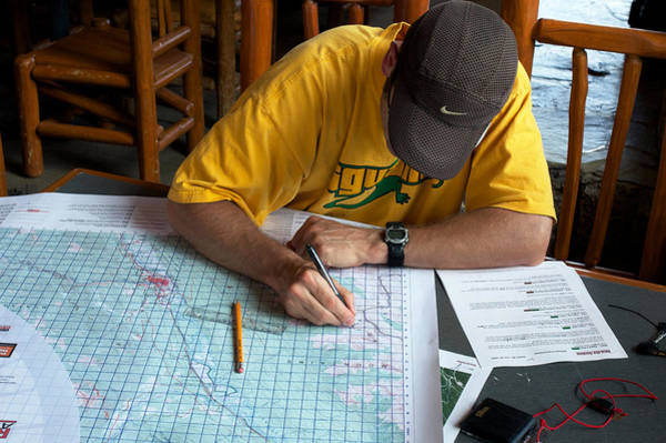 Photograph - Route Planning by Trever Miller