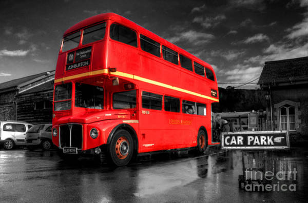 Wall Art - Photograph - Routemaster  by Rob Hawkins