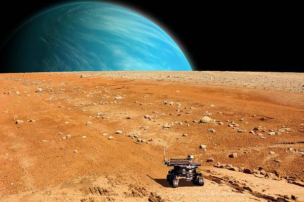 Deep Space Mixed Media - Rover No.2 by Marc Ward