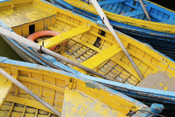 Oar Photograph - Row Boats by Brent Winebrenner