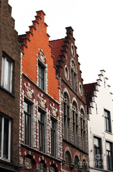 In Bruges Photograph - Row Colors In Bruges by John Rizzuto