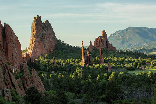 Fins Photograph - Row Of Hogbacks Or Fins Protruding by Matt Andrew