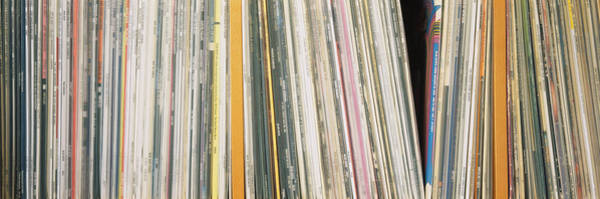 Lp Wall Art - Photograph - Row Of Music Records, Germany by Panoramic Images
