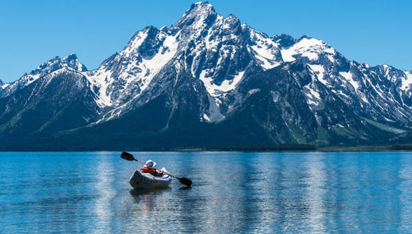 Kayak Photograph - Row Your Boat by Kristopher Schoenleber
