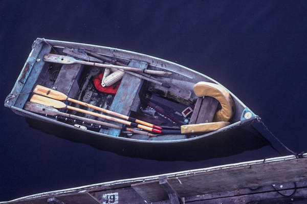 Photograph - Rowboat At Ready by Jim DeLillo
