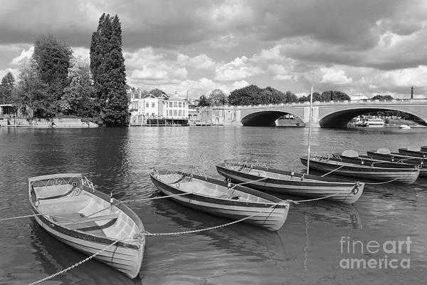 Rowing Boats Art Print