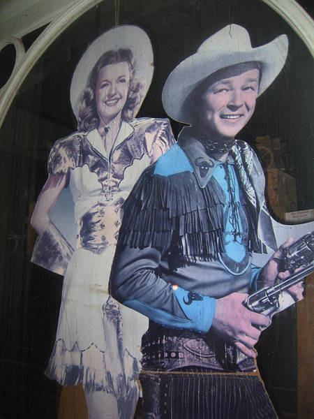 Tombstone Arizona Photograph - Roy Rogers And Dale Evans #2 Cut-outs Tombstone Arizona 2004 by David Lee Guss