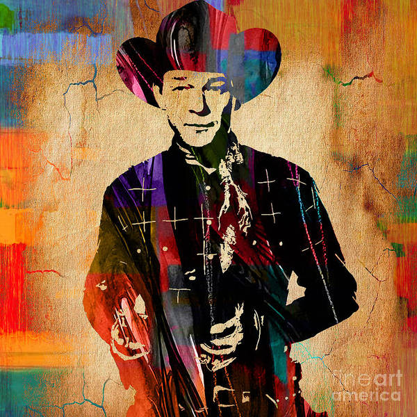 Wall Art - Mixed Media - Roy Rogers Collection by Marvin Blaine