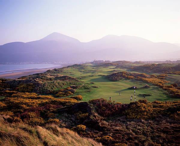 Wall Art - Photograph - Royal Co. Down Golf Course Overlooked by Chris Hill