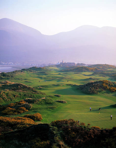 Wall Art - Photograph - Royal County Down Golf Club In Front by Chris Hill