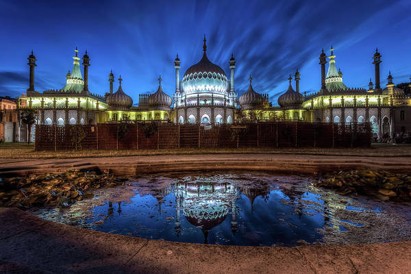Pavilion Photograph - Royal Pavilion Brighton by Andrew Thomas