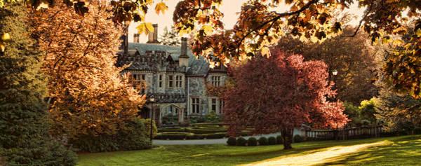 Photograph - Hatley Park Castle In Autumn by Marilyn Wilson