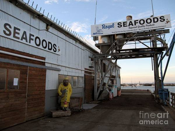 Photograph - Royal Seafoods Monterey by James B Toy