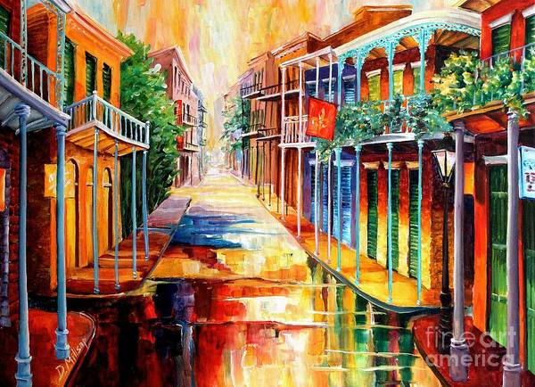 Royal Street Painting - Royal Street Reflections by Diane Millsap