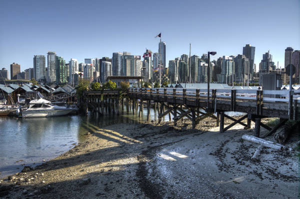 Photograph - Royal Vancouver Yacht Club by Ross G Strachan