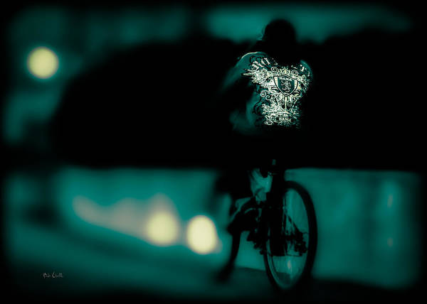 Photograph - Royalty On A Bicycle  by Bob Orsillo