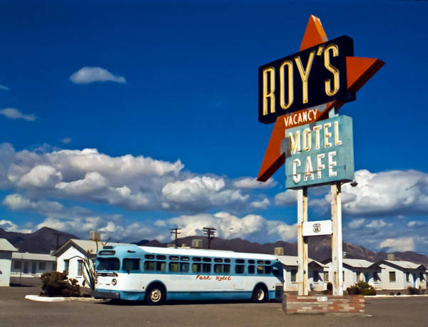 Photograph - Roy's 2002 by Matthew Bamberg