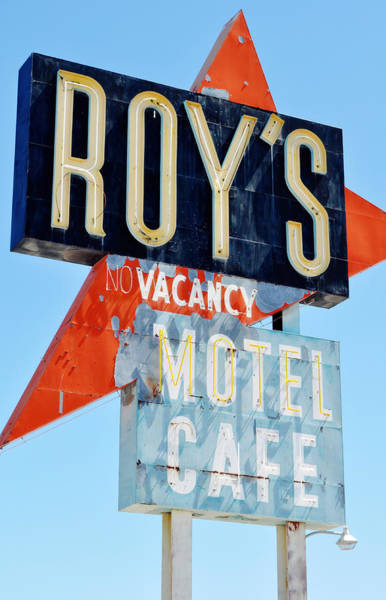 Photograph - Roy's Motel And Cafe by Kyle Hanson