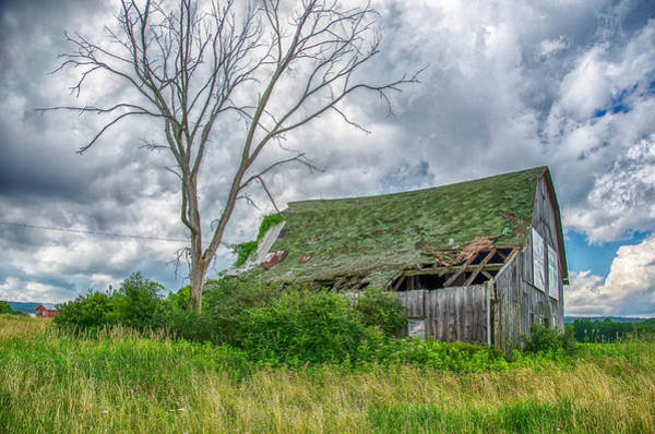 Photograph - Rt-219 Barn 06168c by Guy Whiteley