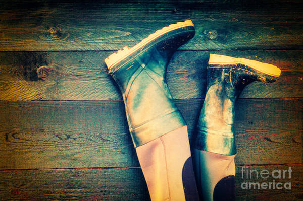 Photograph - Rubber Boots by Silvia Ganora