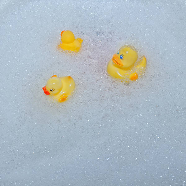Rubber Ducky Photograph - Rubber Ducks by Joana Kruse