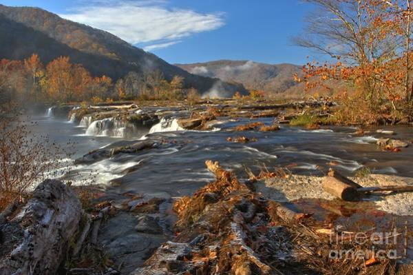 Photograph - Rubble Above Sandstone Falls by Adam Jewell