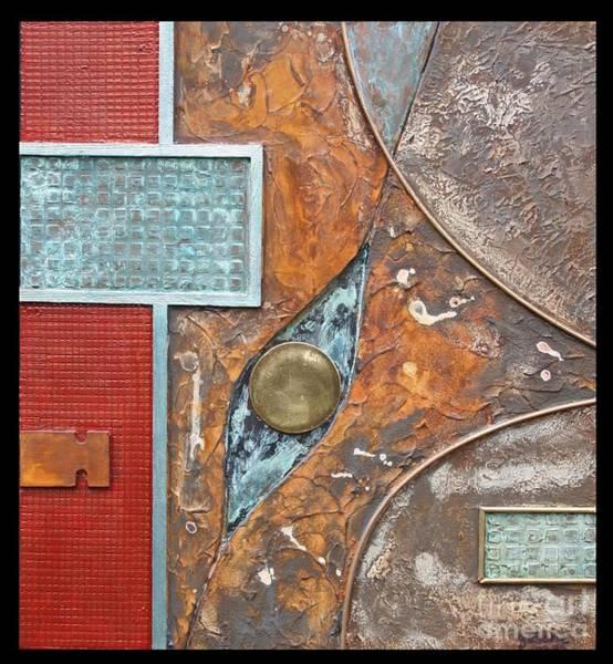 Oxidation Painting - Rubicon by Gertrude Scheffler
