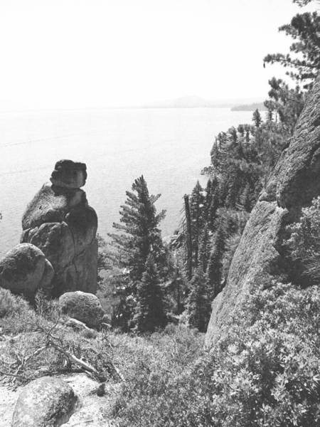 Photograph - Rubicon Trail View Of Lake Tahoe by Frank Wilson