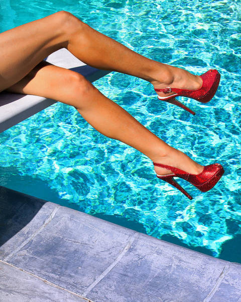 Wall Art - Photograph - Ruby Heels Not In Kansas Palm Springs by William Dey