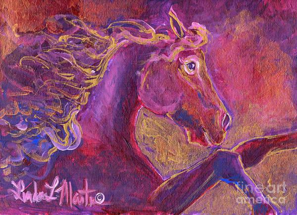 Painting - Ruby by Linda L Martin