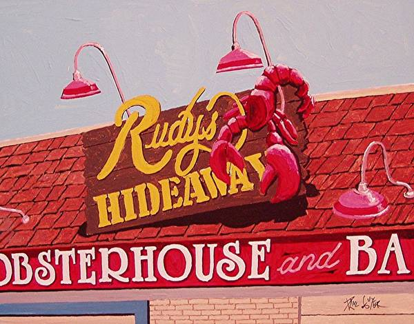 Rudy's Hideaway Art Print by Paul Guyer