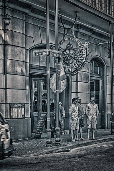 Lower Ninth Ward Photograph - Rue Bourbon  by Sennie Pierson