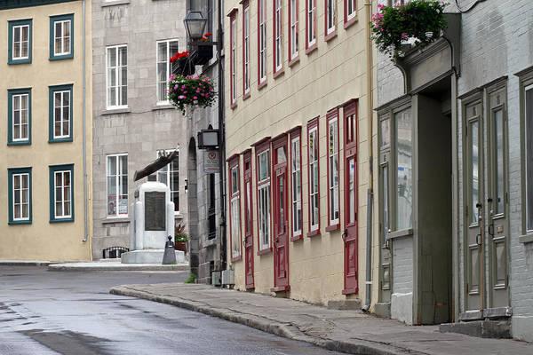 Photograph - Rue De Jardiens In Quebec City by Juergen Roth