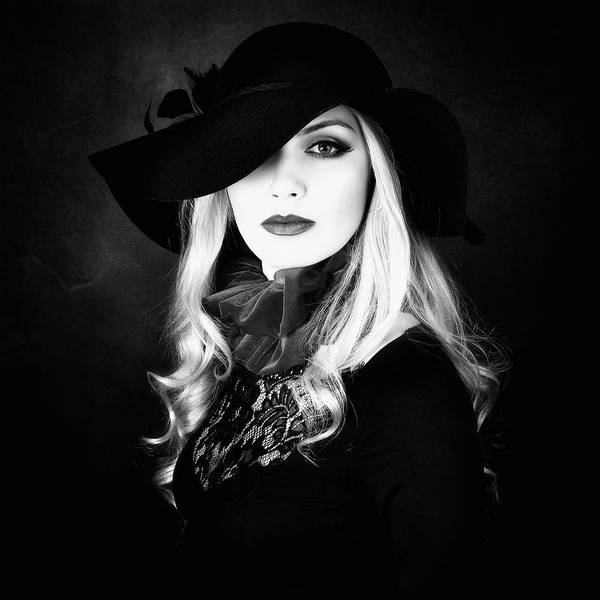 Hats Photograph - Ruffle by Alexandra Fira