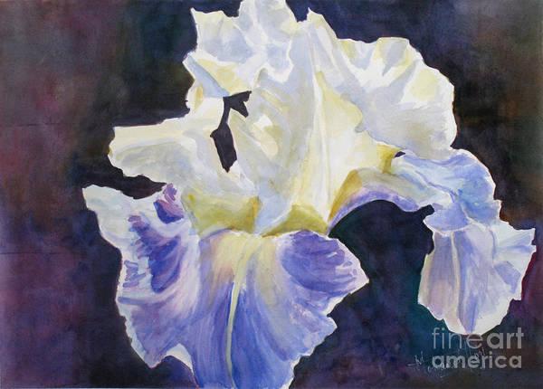 Full Bloom Painting - Ruffles by Mohamed Hirji